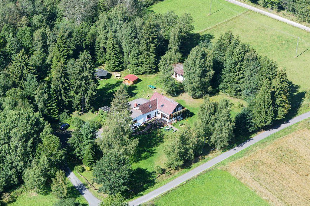 Luftbild vom Haus
